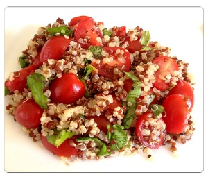 Quinoa Salad with Tomato & Basil